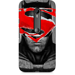 CopyCatz Batman With Superman Logo Premium Printed Case For Moto X Play