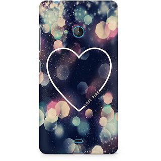 CopyCatz Love Pink Premium Printed Case For Nokia Lumia 540