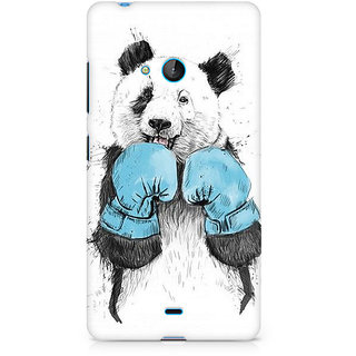 CopyCatz Panda Boxer Premium Printed Case For Nokia Lumia 540