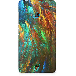 CopyCatz Peacock Shades Premium Printed Case For Nokia Lumia 540