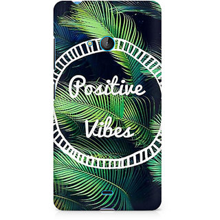 CopyCatz Positive Vibes Premium Printed Case For Nokia Lumia 540