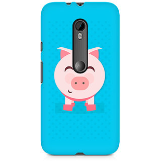 CopyCatz Pig Money Premium Printed Case For Moto X Force