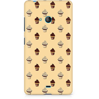 CopyCatz Cream Cupcakes Premium Printed Case For Nokia Lumia 540