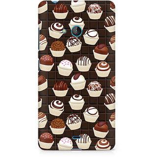 CopyCatz Dark Cupcakes Premium Printed Case For Nokia Lumia 540