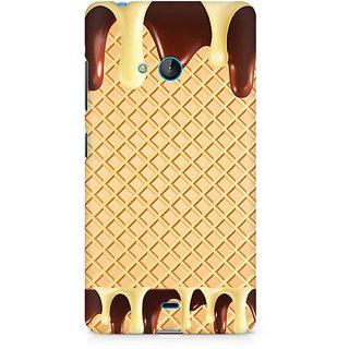 CopyCatz Dripping Chocolate Premium Printed Case For Nokia Lumia 540