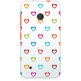 CopyCatz Colors Of Love Premium Printed Case For Nokia Lumia 530