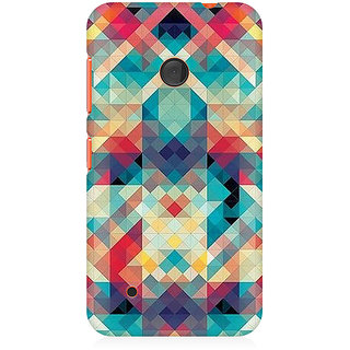 CopyCatz Abstract Criss Cross Premium Printed Case For Nokia Lumia 530