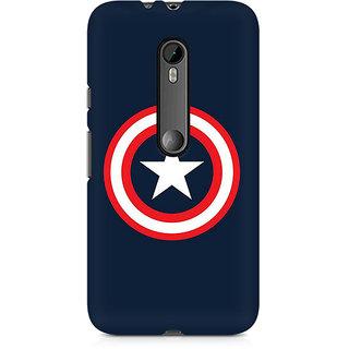 CopyCatz Captain America Logo Premium Printed Case For Moto X Play