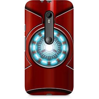 CopyCatz Iron Man'S Heart Premium Printed Case For Moto X Style