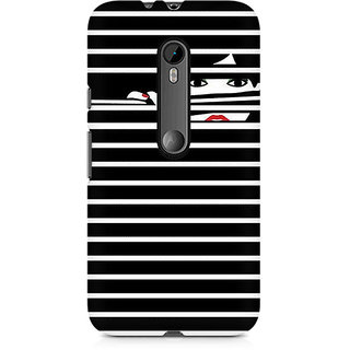 CopyCatz Peekaboo Premium Printed Case For Moto X Force