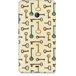 CopyCatz Skeleton Key Premium Printed Case For Nokia Lumia 540