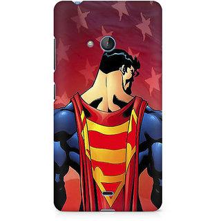 CopyCatz Superman Cape Premium Printed Case For Nokia Lumia 540