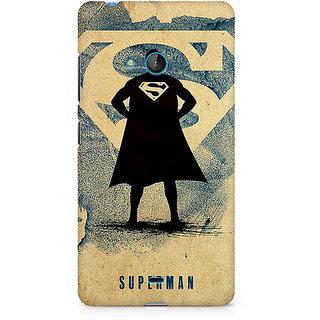 CopyCatz Superman Standing Premium Printed Case For Nokia Lumia 540