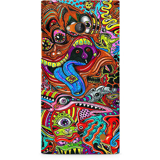 CopyCatz Surreal Colorful Physchedelic Premium Printed Case For Nokia Lumia 730