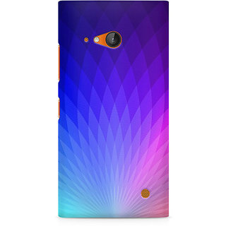 CopyCatz The Glowing Lotus Premium Printed Case For Nokia Lumia 730
