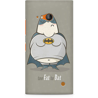 CopyCatz Too Fat To Bat Premium Printed Case For Nokia Lumia 730