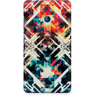 CopyCatz Two Square Abstract Premium Printed Case For Nokia Lumia 540