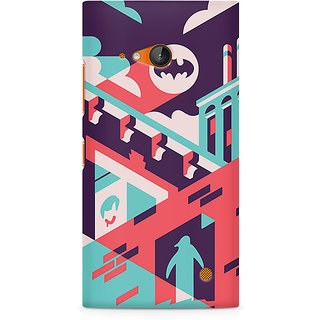 CopyCatz Where Is Batman Premium Printed Case For Nokia Lumia 730