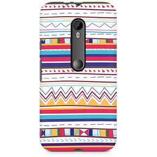 CopyCatz Tribal Pastels Premium Printed Case For Moto X Style