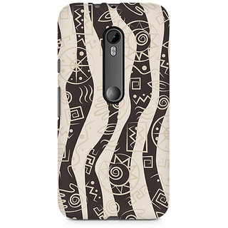 CopyCatz Abstract Tribal Wave Premium Printed Case For Moto X Style