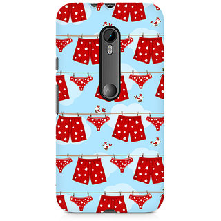 CopyCatz Boxers And Panties Premium Printed Case For Moto X Force