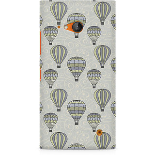 CopyCatz Vintage Hot Air Balloons Premium Printed Case For Nokia Lumia 730