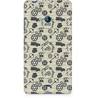 CopyCatz Vintage Machinery Premium Printed Case For Nokia Lumia 540
