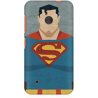 CopyCatz Superman Minimalist Premium Printed Case For Nokia Lumia 530