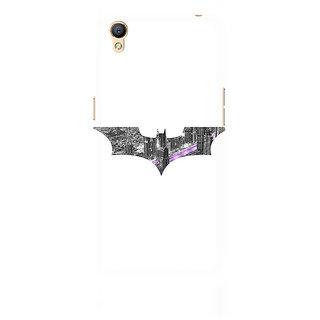CopyCatz Bat Logo Arkham City Premium Printed Case For Oppo A37