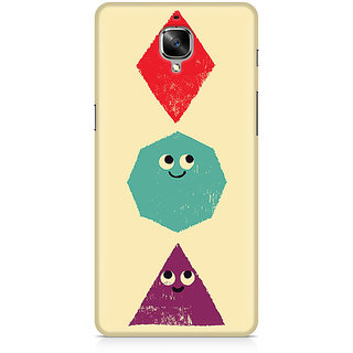 CopyCatz Geometric Monsters Premium Printed Case For OnePlus Three