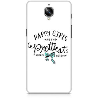 CopyCatz Happy Girls Premium Printed Case For OnePlus Three
