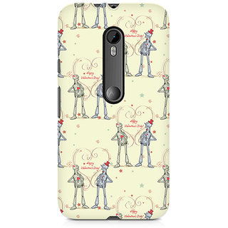 CopyCatz Robots With A Heart Premium Printed Case For Moto X Force
