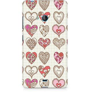 CopyCatz So Many Hearts Premium Printed Case For Nokia Lumia 540