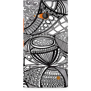 CopyCatz Doodle Abstract Premium Printed Case For Nokia Lumia 730