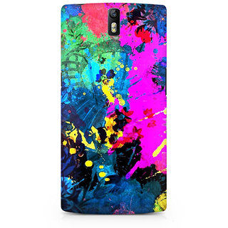CopyCatz Artful Splatter Premium Printed Case For OnePlus One