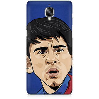 CopyCatz Messi Cartoon Premium Printed Case For OnePlus Three