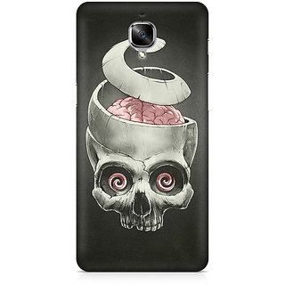 CopyCatz Open Your Brain Premium Printed Case For OnePlus Three