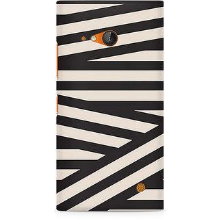 CopyCatz Criss Cross Premium Printed Case For Nokia Lumia 730