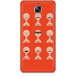 CopyCatz Types Of Beard Premium Printed Case For OnePlus Three