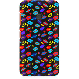 CopyCatz All Superheroes On Black Clipart Premium Printed Case For Nokia Lumia 530
