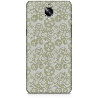 CopyCatz Vintage Gears Premium Printed Case For OnePlus Three