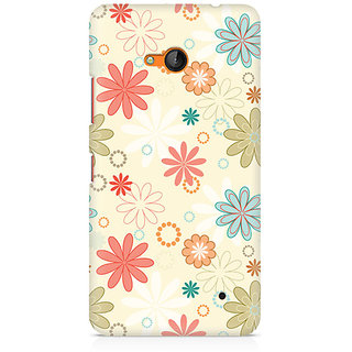 CopyCatz Floral Romance Premium Printed Case For Nokia Lumia 640