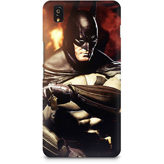 CopyCatz Batman Arkham City Nonchalant Premium Printed Case For OnePlus X