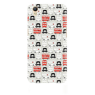 CopyCatz London Cab And Bus Premium Printed Case For Oppo A37
