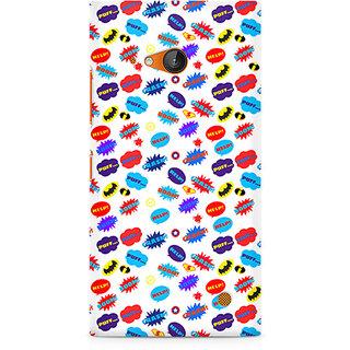 CopyCatz All Superheroes On White Clipart Premium Printed Case For Nokia Lumia 730