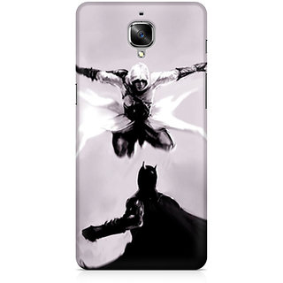 CopyCatz Creed Vs Batman Premium Printed Case For OnePlus Three