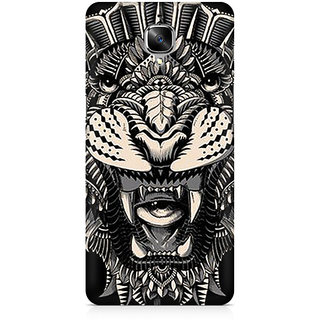 CopyCatz Abstract Tiger Premium Printed Case For OnePlus Three