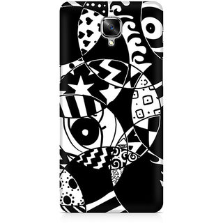 CopyCatz Random Abstract Premium Printed Case For OnePlus Three