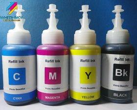 EPSON INK CYAN MAGENTA YELLOW BLACK 75ml BOTTLES