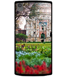 Ayaashii Old Masjid Back Case Cover for One Plus X::One + X